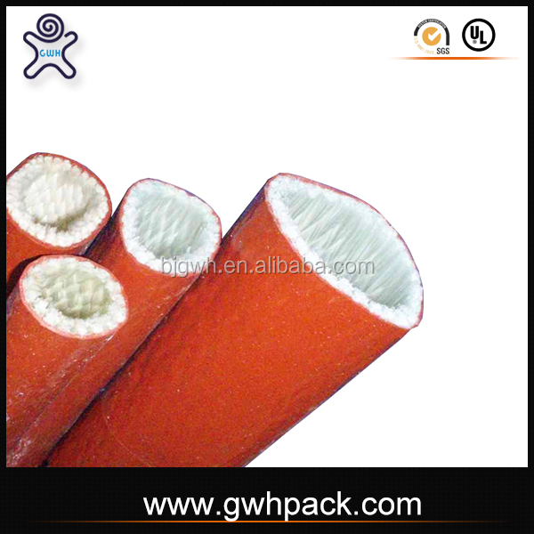 Three-way catalyst wire protection fiber glass sleeve