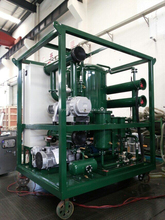 ZJA Transformers Mineral Oil Reclaim Machine , High Efficiency Waste Oil Reclaiming Machine