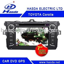 car/auto DVD/GPS player, special for TOYOTA COROLLA