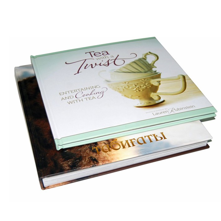 Hardcover A4/A5 Size Book Laminated with Custom Glossy Pages