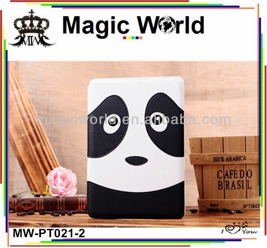 new style custom cartoon shaped smart case for ipad mini