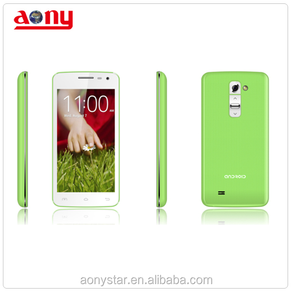 4.5inch IPS LCD Android mobile phone , 3G calling mobile phone