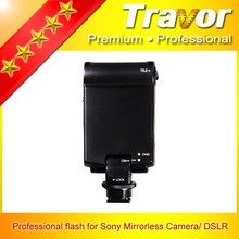 New coming flash speedlite for Sony Nikon Canon mirrorless camera professional for sony alpha a77 flash