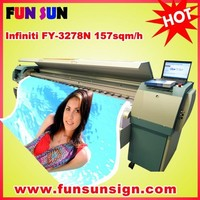 Infiniti/Challenger FY-3278N digital flex banner printing machine (10ft,high quality)