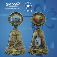 Russia souvenir dinner bell with nature style