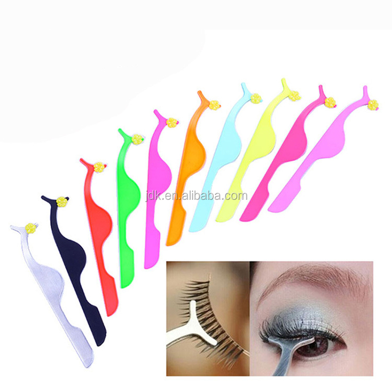 Stainless Steel Eyebrow Tweezers, eye brow Manicure Tweezers, fashion beaty Eyebrow Slanted Tweezers