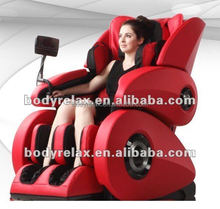 2015 New body care massage equipment: 3D zero gravity massage chair with music, full body massage, heating, body scan