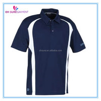 100% polyester mens golf polor shirt, mens sports clothing