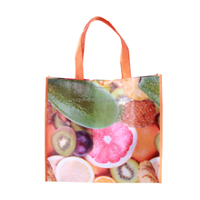 Custom Promotional Reusable Laminated Tote Recyclable PP folding non-woven bag Shopping Bag