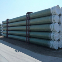 Farm Irrigation Agriculture Water Fiber Reinforced Glass Plastic Pipe