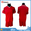 Soccer jersey sets red belgium 2015 football shirts