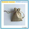 Rope bag jute jewelry packaging bag pouch drawstring gift bag