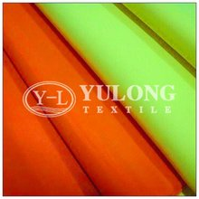 55% cotton and 45% polyester EN471 fluorescent yellow fabric for workwear and safety vest