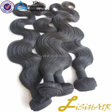 Never Tangle Virgin Human Hair virgin mongolian wet and wavy hair weave