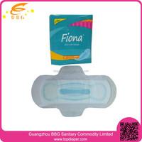 Net surface anion ladies sanitary pads for feminine