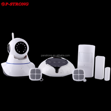 New Smart Wireless GSM Wifi GPRS 3G Alarm Security System For Company