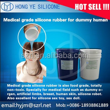 liquid silicone for life casting artificial prosthesis forming