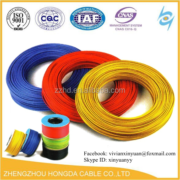 Hot sale House Wiring Flexible Cable 1.5mm 2.5mm 4mm 6mm 10mm 16mm 25mm 35mm