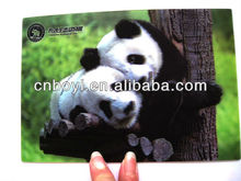 2014 new popular 3D lenticular card for promotional