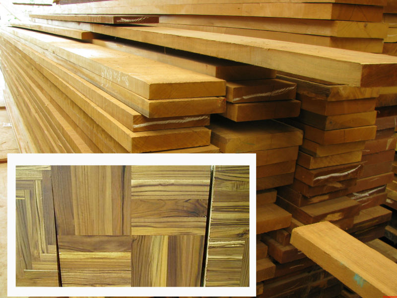 Teak Wood Sawed Timber