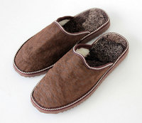 New Arrival!!! wholesale china factory direct sale leather men slippers