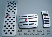 drilled free Pedal,Gas Pedal,Brake Pedal cover for Audi A4/A3 Sedan A5/A6/A6L/A7/A8L Q5 Auto