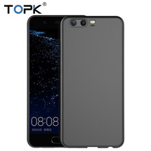2018 TOPK For Huawei P10 new Shockproof Case,Clear PC Hard Protector Cell Phone Case for Huawei P10 Case