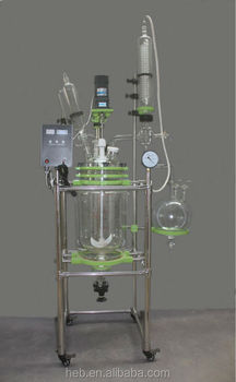 EX-HEB-10L Jacketed Glass Reactor