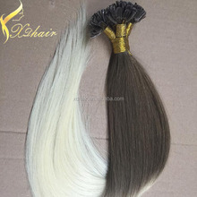 2015 New Hot Sale Socap Keratin Glue Prebonded Hair u Tip Extensions India