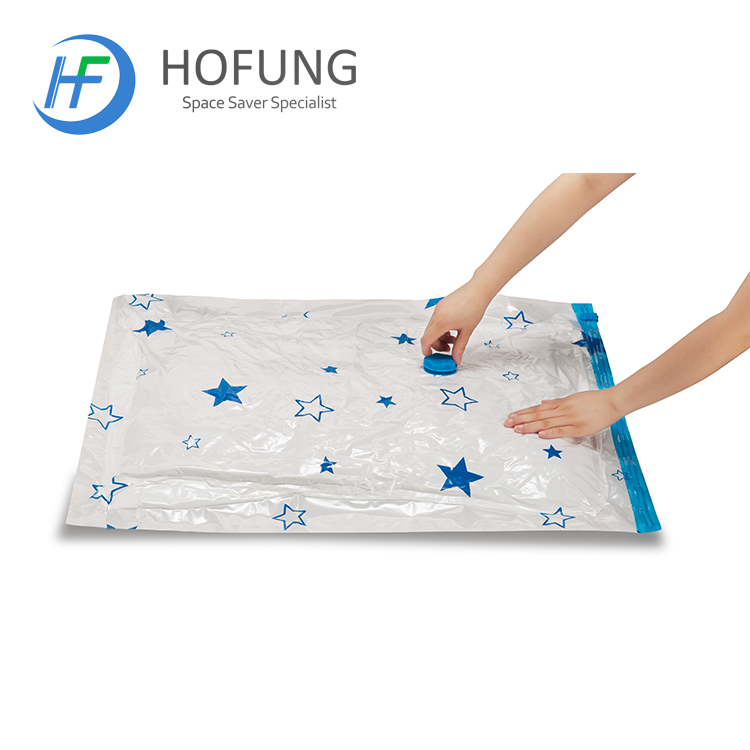 High Quality Space Saver Large Size Star Pattern Vacuum Bag