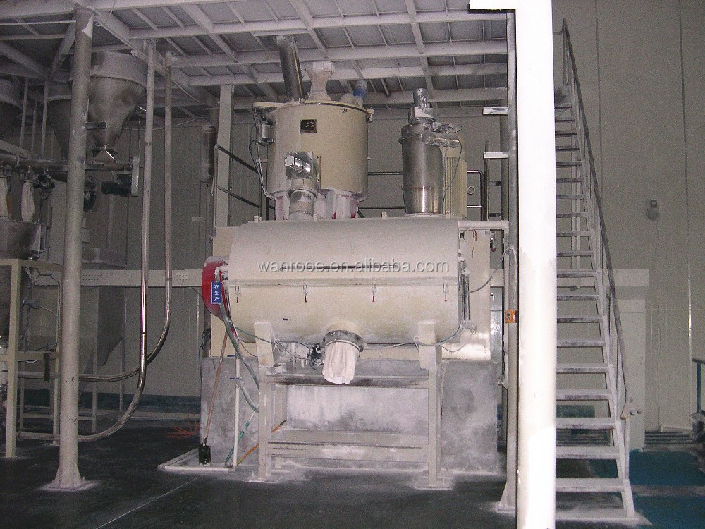 automatic pvc weighing mixing system