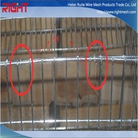 european type model style rabbit breeding cages with plastic trays / euro style rabbit cage