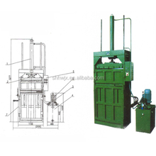 scrap plastic/waste paper/cardboard compactor baler machinery; packaging machinery