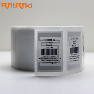Direct thermal zebra toshiba compatible paper roll rfid label