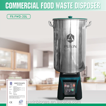 Commercial Food Waste Grinder to Make Organic Fertilizer