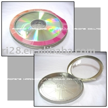 Half round shaped window metal CD box
