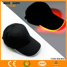 led lighted hats and caps/baseball cap with led lights/cheap souvenir items