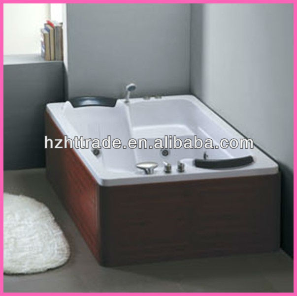 Bathroom hot spa rectangle 2 person jetted outdoor indoor bathtubs
