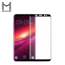 New arrival low price full clear tempered glass for Samsung s9 screen protector