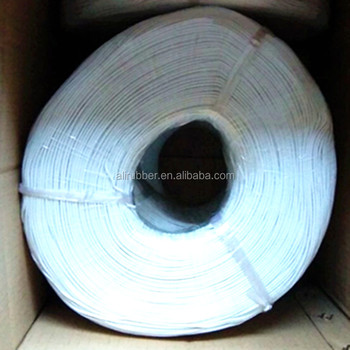 Silicone Rubber Heating Cable Color White Diameter 2mm 220v 3ohm/m