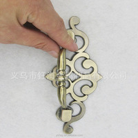 2015 hot sale fancy zinc alloy drawer handle