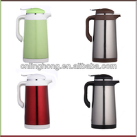 stainless steel double wall coffee pot/hot water pot