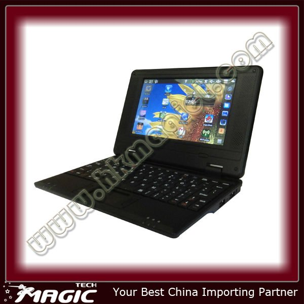 7 inch notebook andriod mini laptop