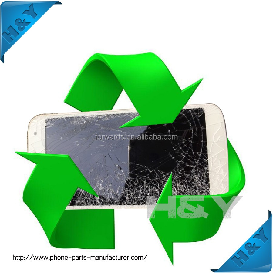 Fix cracked LCD for Samsung note1/note2/note3/note4/note5 display broken refurbishment