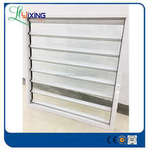 China supplier high quality sound proof and weather proof fixed louver windows