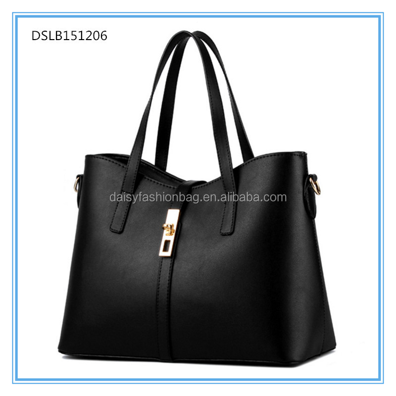 Top quality shoulder bag women tote hand bag lady handbag,fittings for handbags,2017 latest fashion handbag