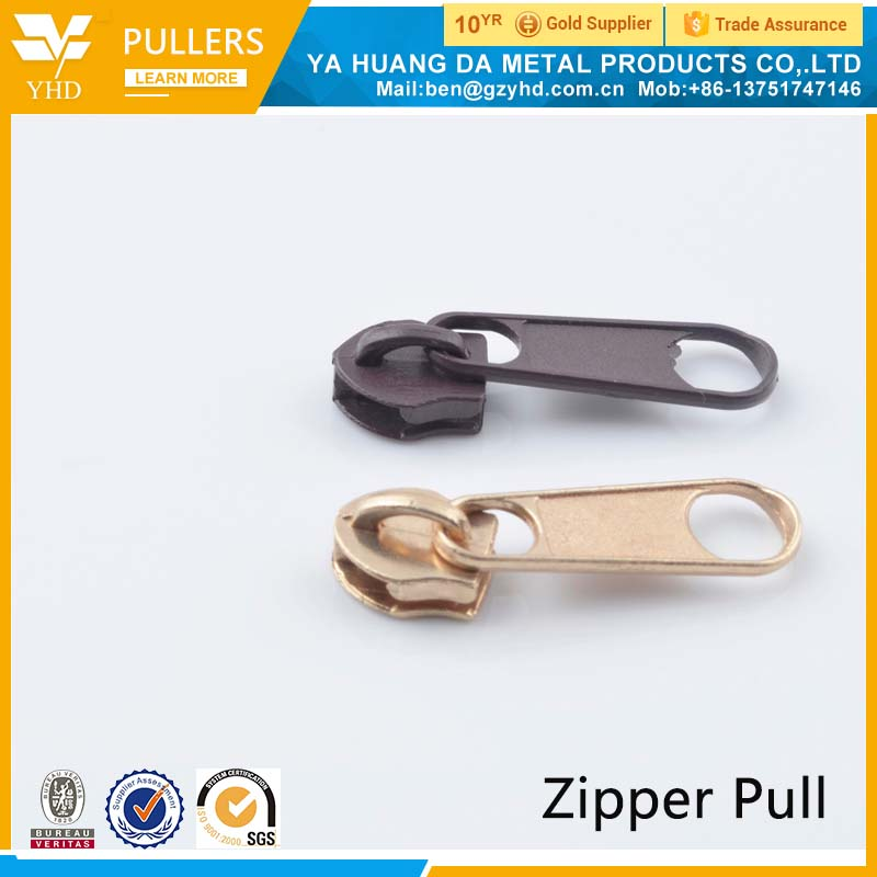 OEM comapny customized 2017 new product fashion metal zipper puller design
