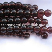 Factory wholesale shinning clear crystal glass beads string for wedding tree curtain decoration