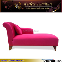 red chaise lounge furniture