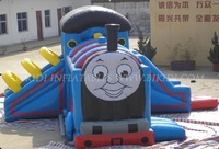 Cheap bouncy castle/thomas the train inflatable bounce house/jumping castle B3001
